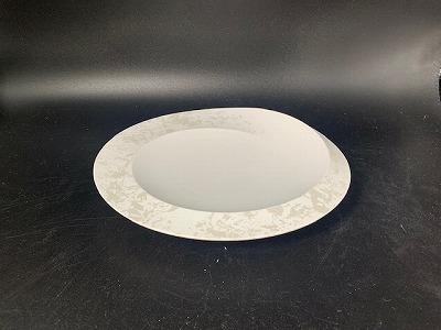 泡シェル21cm丸皿