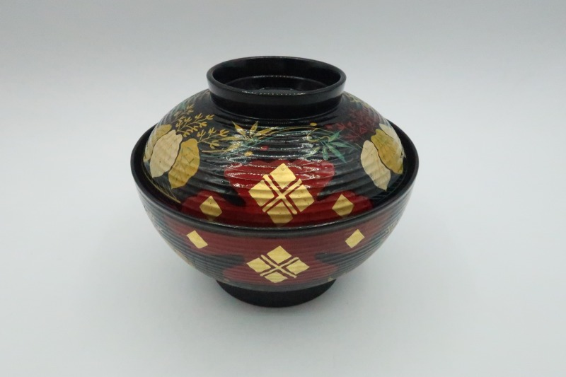 骨董 正方寺煮物椀(10客揃い・共箱入)