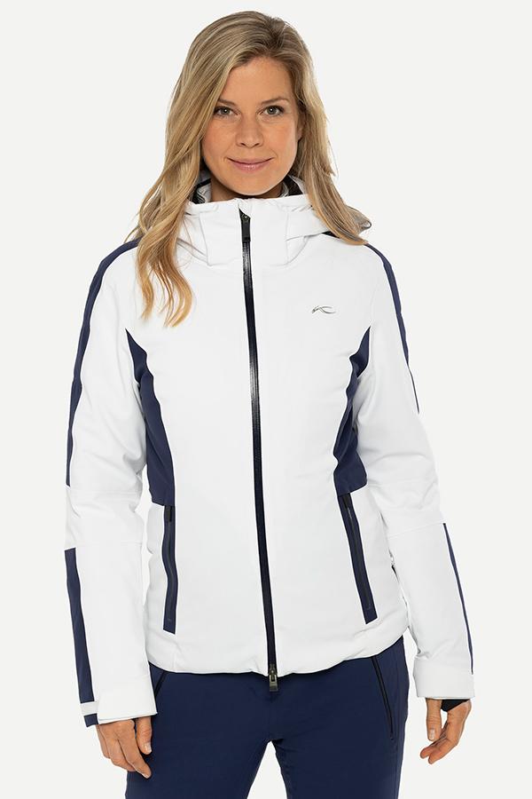 KJUS レディース スキー ジャケット LS15-I04 Women Formula Jacket 10012 wht-atlanta blue