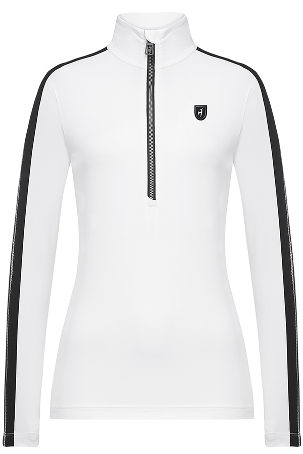 NEW Toni Siler レディース スキーインナージャケット W/SHIRTS 302302 ELIN 201 BRIGHT WHITE