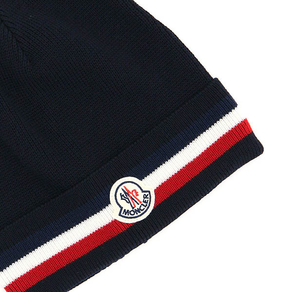 MONCLER モンクレール キャップ 3B749-A9575 BERRETTO  742/NAVY