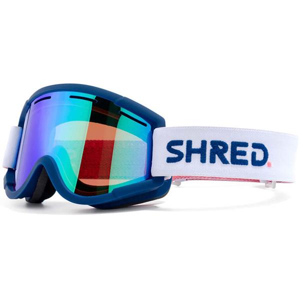SHRED スキーゴーグル NASTIFYBIGSHOW NAVY CBL PLASMA
