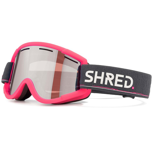 SHRED スキーゴーグル NASTIFY+ (スペアレンズ付) BOUJEE 1ND CBL PLASMA 2ND CARAMEL