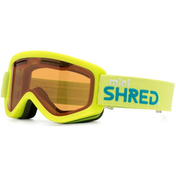 SHRED スキーゴーグル WONDERFY MINI CARAMEL YELLOW