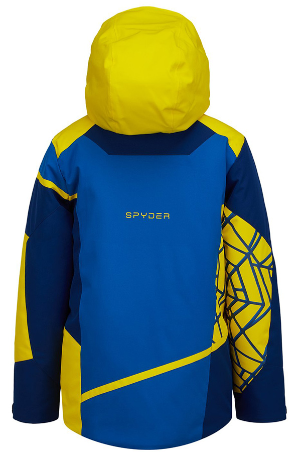 SPYDER スパイダー キッズ スキー ジャケットJACKET 195010 CHALLENGER 424 OLG ABY