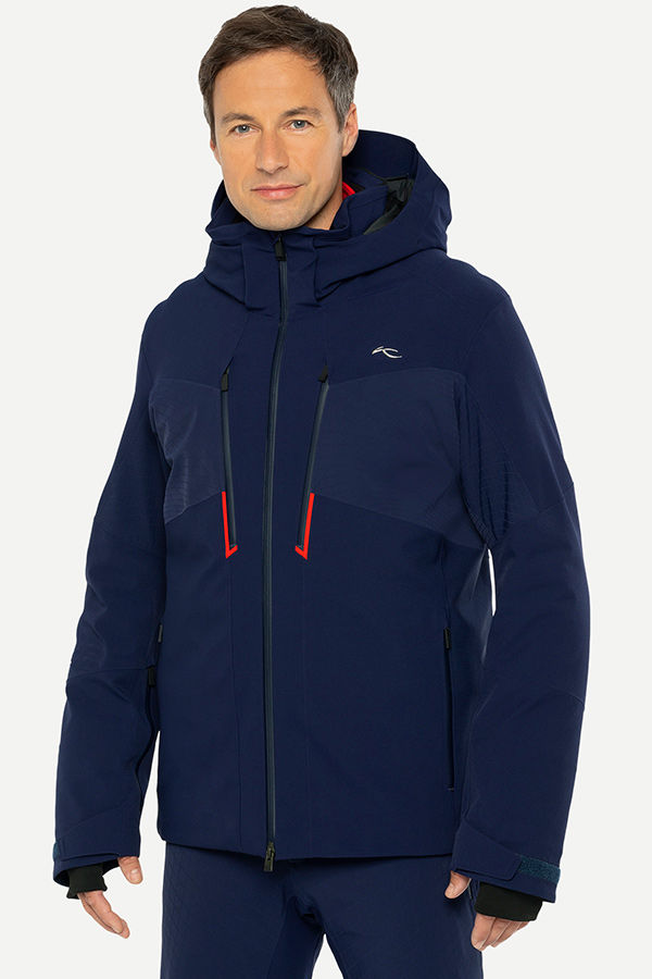 KJUS メンズ スキー ジャケット MS15-I02 Men Evolve Jacket 75602 aruba blue- black