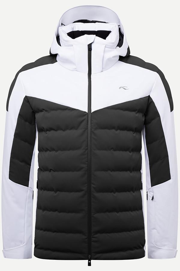 KJUS メンズ スキー ジャケット MS15-I04 Men Slight Line Jacket 15001 black-white