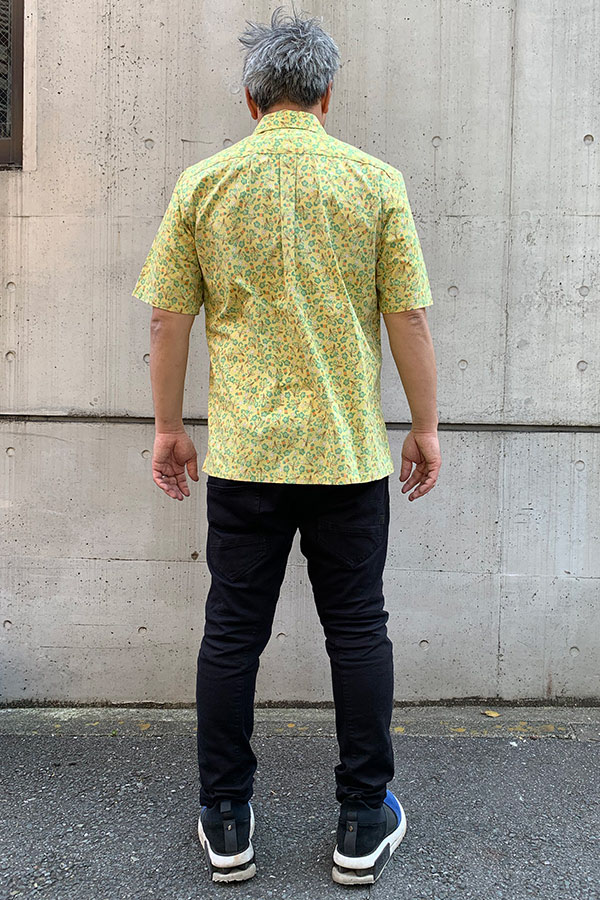 TWO PALMS アロハシャツ メンズ 505C Makalii yellow
