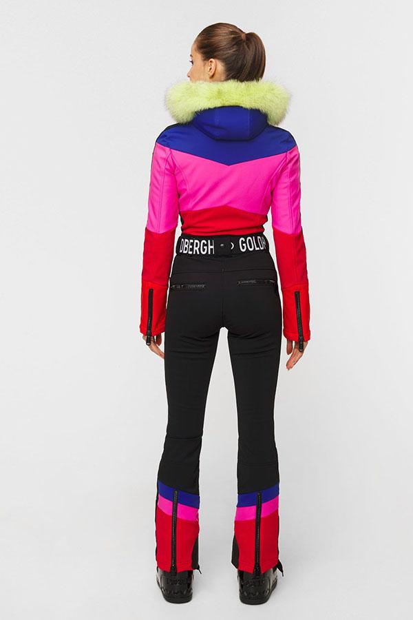 NEW GOLDBERGH レディース スキー ワンピース GB1689204 Pearl neon fur 464