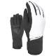 LEVEL レディース スキーグローブ YN3353WG W ZOE Black-White