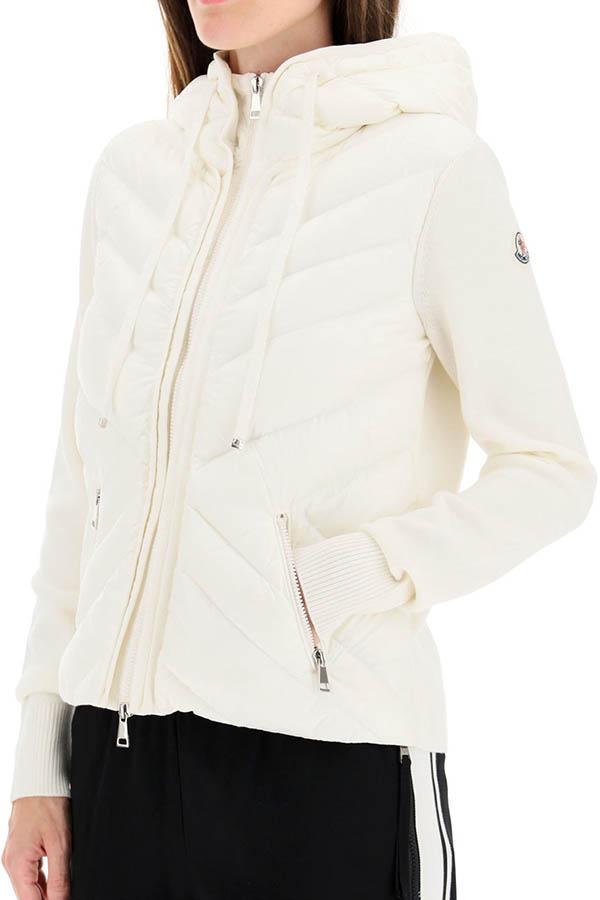 MONCLER モンクレール ジャケット レディース 9B522-A9001 CARDIGAN TRICOT 030/WHITE