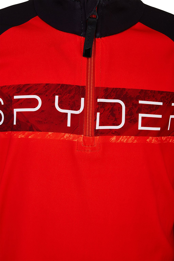 SPYDER スパイダー キッズ スキー インナージャケットTOPS 196016 PEAK 620 VOLCANO