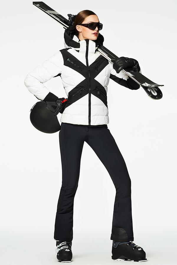 NEW GOLDBERGH レディース スキー ジャケット GB0210204 Cross 800  white