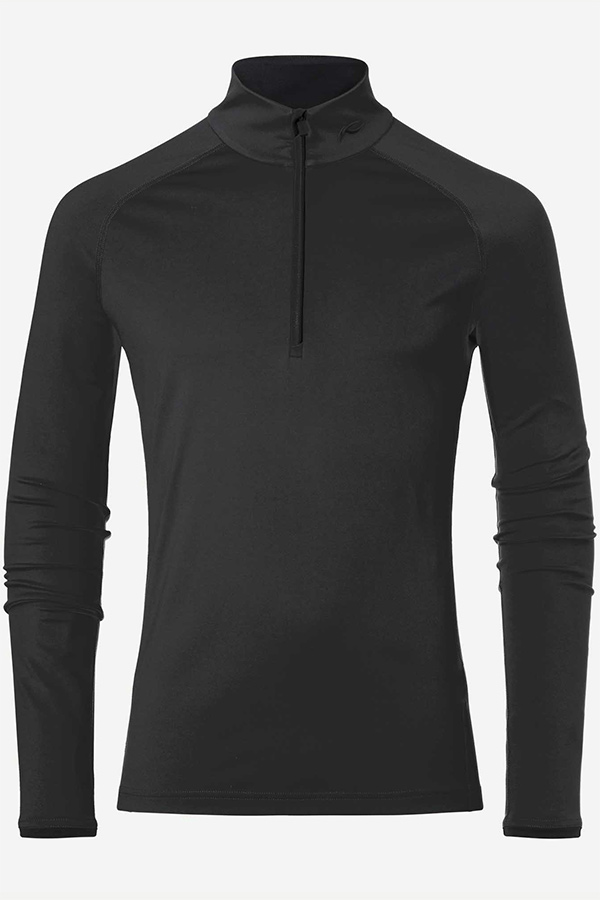 KJUS メンズ スキー インナージャケット MS25-E06 Men Feel Half-Zip 15000 black