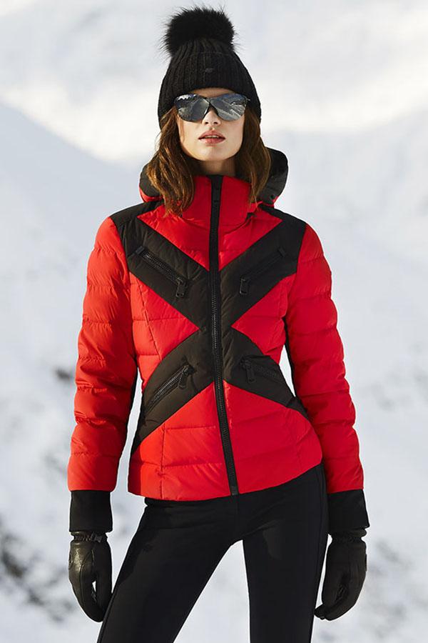NEW GOLDBERGH レディース スキー ジャケット GB0210204 Cross 459 RUBYRED