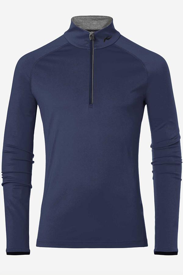 KJUS メンズ スキー インナージャケット MS25-E06 Men Feel Half-Zip 21800 atlanta blue