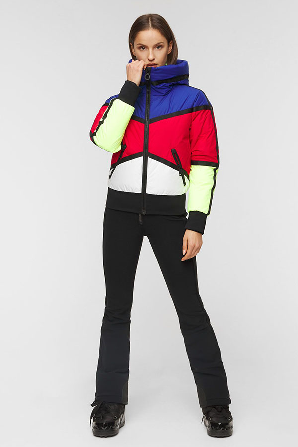 NEW GOLDBERGH レディース スキー ジャケット GB0211204 Mondriaan 464 RAYNBOW