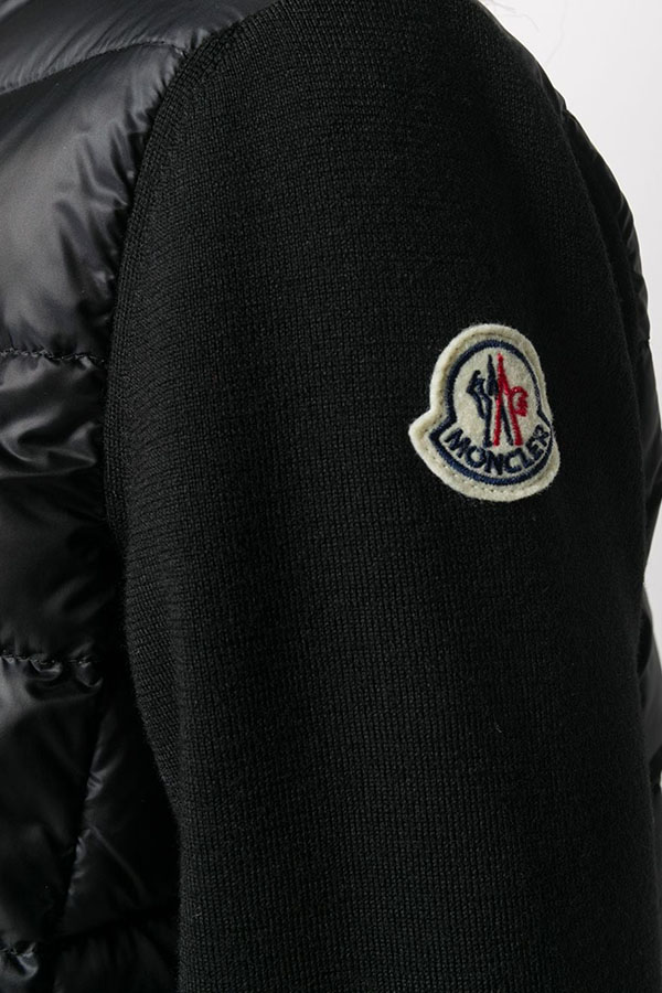 NEW  MONCLER モンクレール ジャケット レディース 9B511-A9018 CARDIGAN TRICOT 999/BLACK