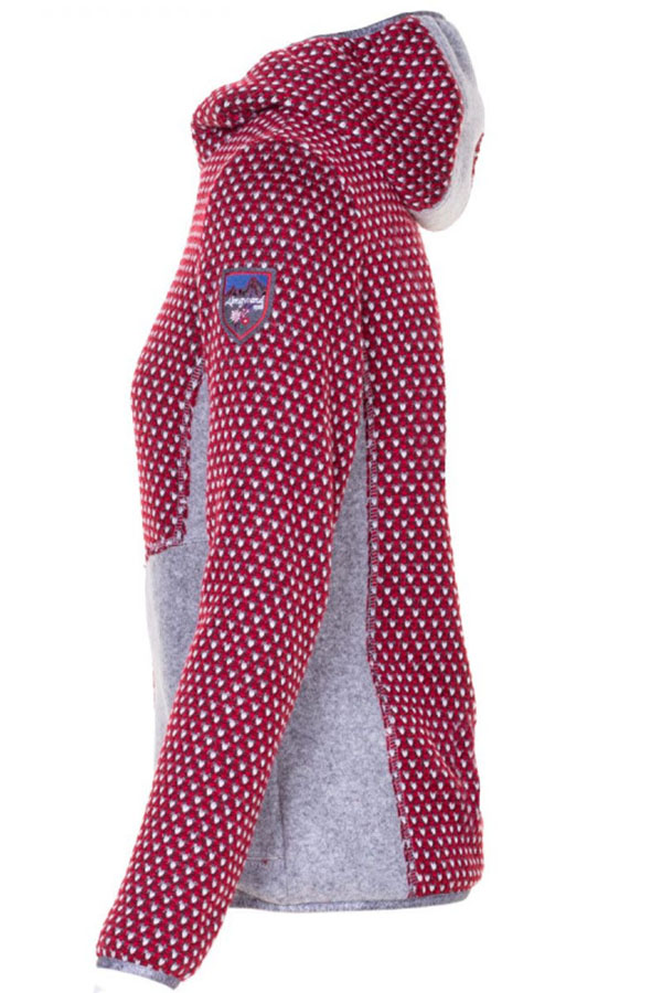 NEW ALMGWAND アルムグワンド レディースジャケット JK 62121AD GEISSENBERG 07-40 PINK-SILVER GREY