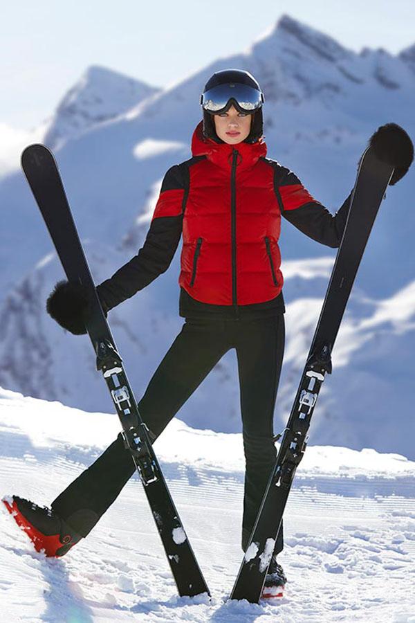 NEW GOLDBERGH レディース スキー ジャケット GB1614204 Nura 459 RUBYRED