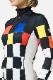 SALE 60%OFF CASTELBAJAC レディース スキーインナージャケット Shirt RLIWL15 W BESSI SQUARES TOP 995/MULTI COLOR