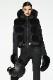 NEW GOLDBERGH レディース スキー ベスト VEST GB0283204 Foxy faux fur 900 BLACK