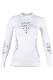 UYN レディースアンダーシャツ FUSYON UW SHIRT LS ROUND NECK U100025 W361-SnowWhite/Anthracite/Grey