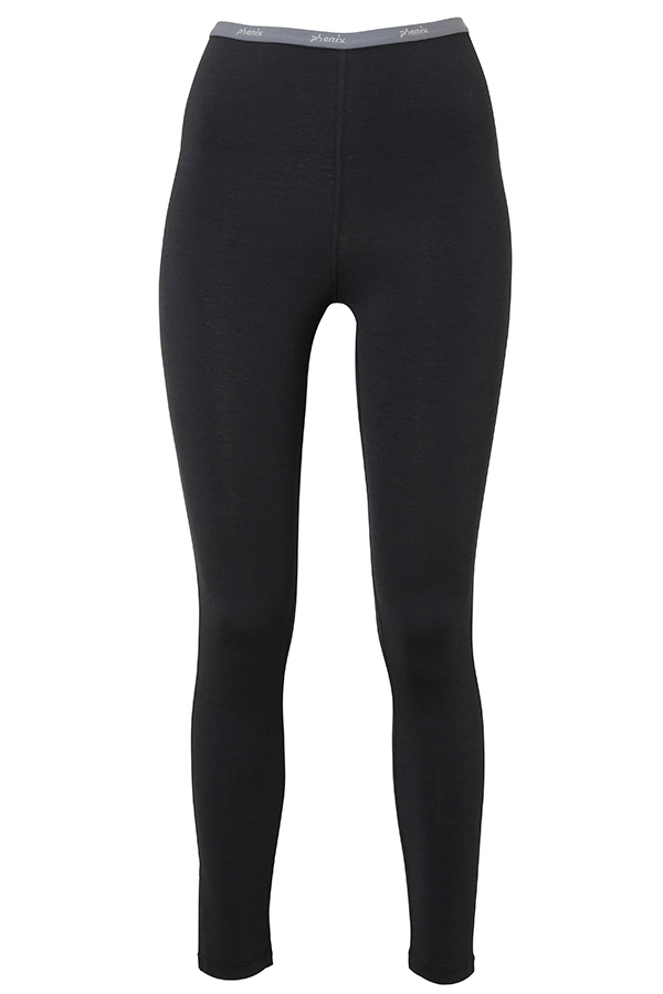 NEW Phenix レディース スキー インナーパンツ W/UNDER TIGHTS PH962UB75 Outlast Mid wt.Stretch Tights BK