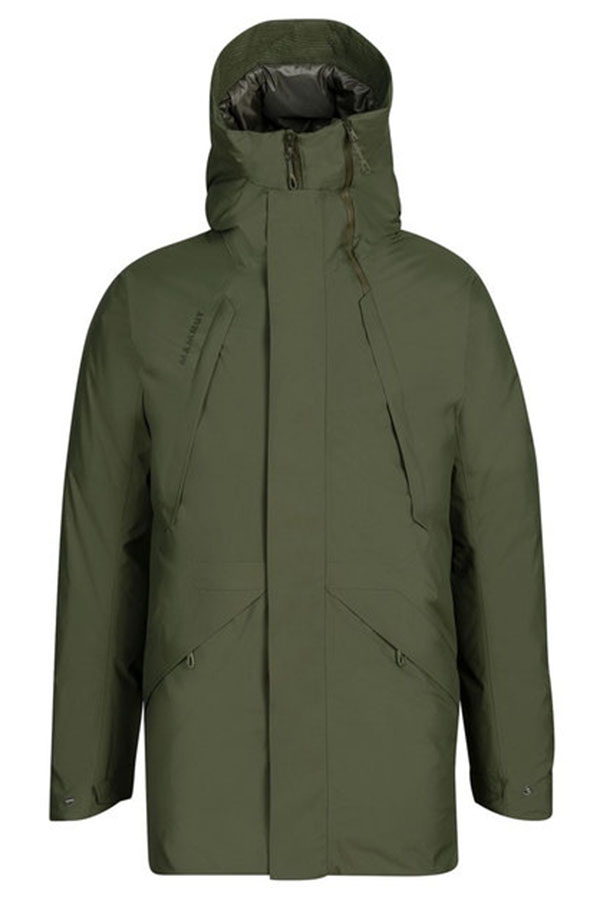 WINTER SALE 20%OFF MAMMUTメンズジャケット 1010-27571 ZUN HS Thermo Hooded Parka AF Men 4584 iguana