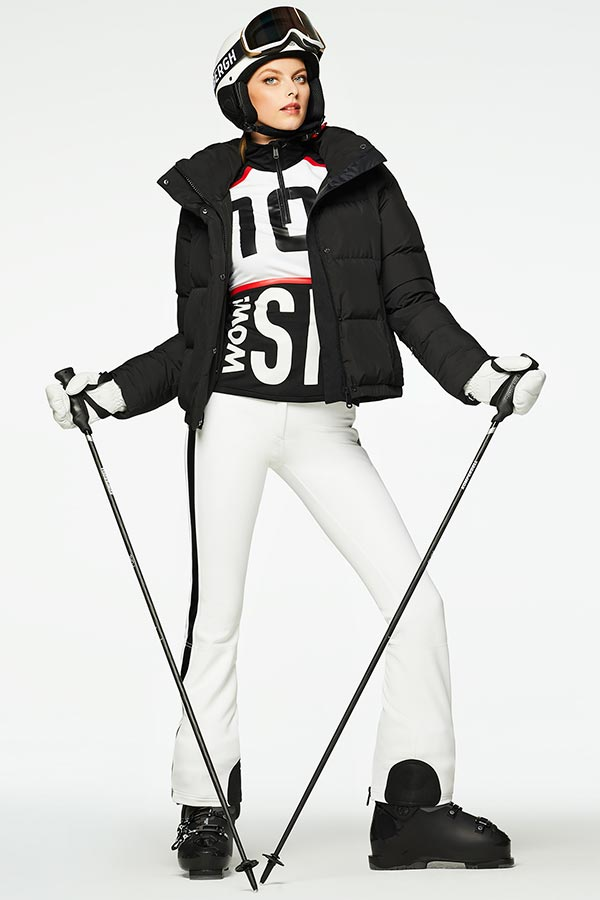 NEW GOLDBERGH レディース スキー インナージャケット GB3011204 Carla 900 BLACK