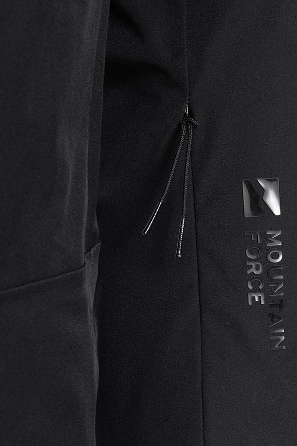 NEW MOUNTAIN FORCE メンズ スキー ジャケット JK MF20W0509 Men Arlo Jacket 1000 Black
