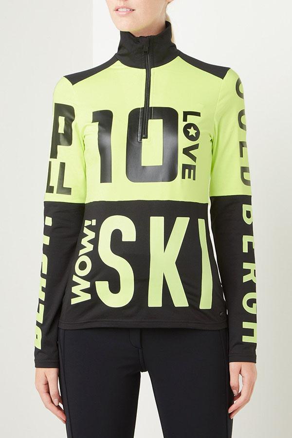 GOLDBERGH レディース スキー インナージャケット GB3011204 Carla 113 NEONYELLOW