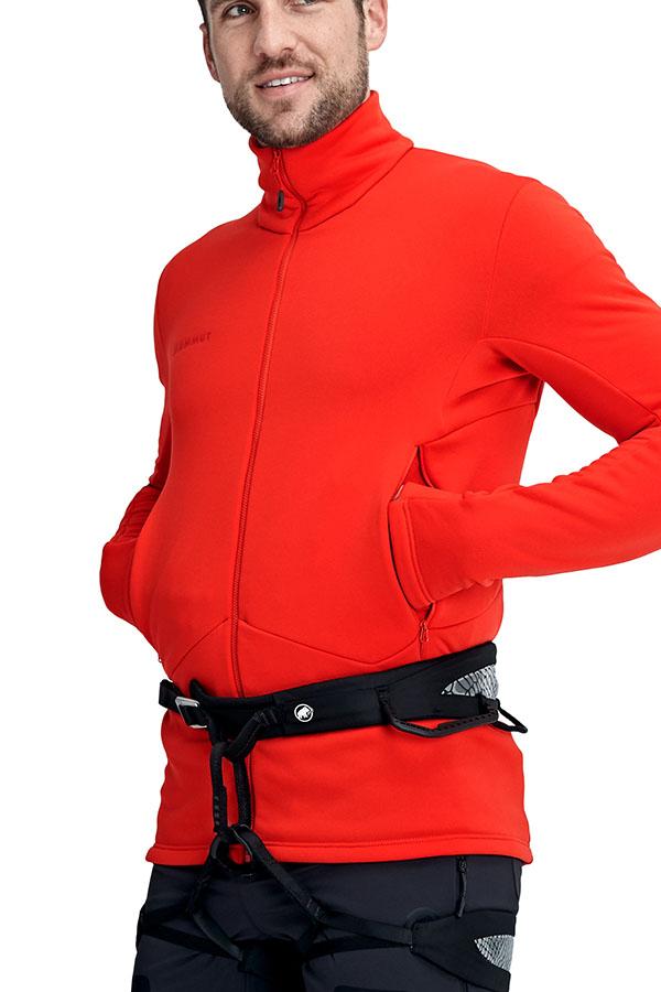 MAMMUTメンズジャケット M/CA JK 1014-02450 Aconcagua ML Jacket Men 3445  spicy