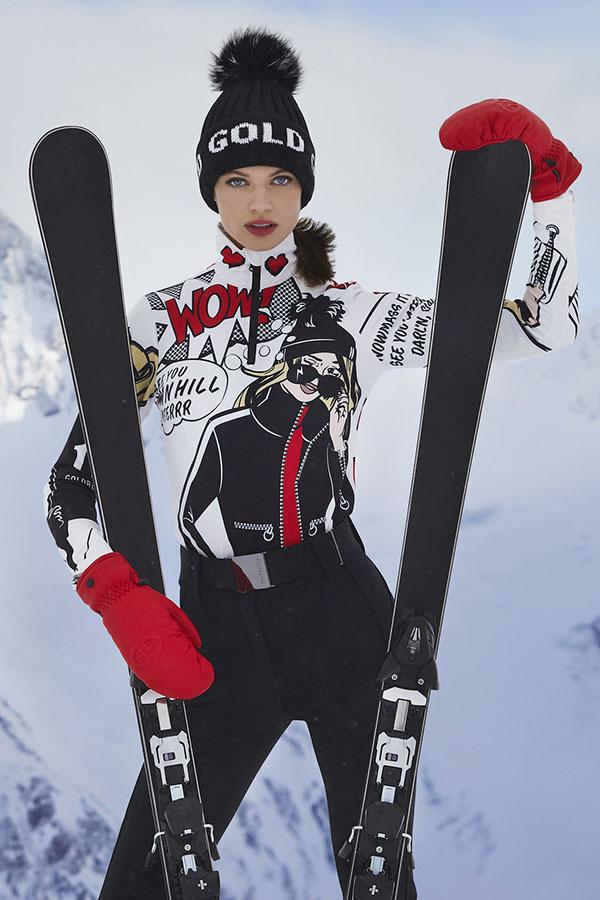 NEW GOLDBERGH レディース スキー インナージャケット GB5410204 Pop 462 POP