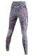 UYN レディースアンダーパンツ AMBITYON UW PANTS LONG U100024 B617-BlackMElange/Pink/ Aqua