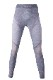 UYN レディースアンダーパンツ AMBITYON UW PANTS LONG U100024 W354-GreyMelange/Nude/ Salmon