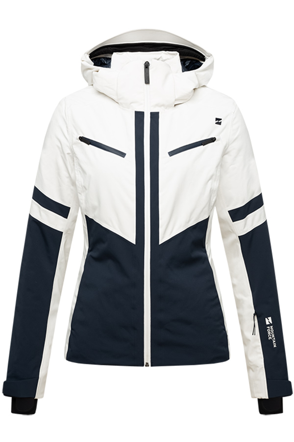 NEW MOUNTAIN FORCE レディース スキー ジャケット JK MF20W0009B Wmn Dana Jacket 0630 Offwhite/Navy