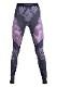 UYN レディースアンダーパンツ EVOLUTYON UW PANTS LONG U100020 G980-AnthraciteMelange/ Raspberry/Purple