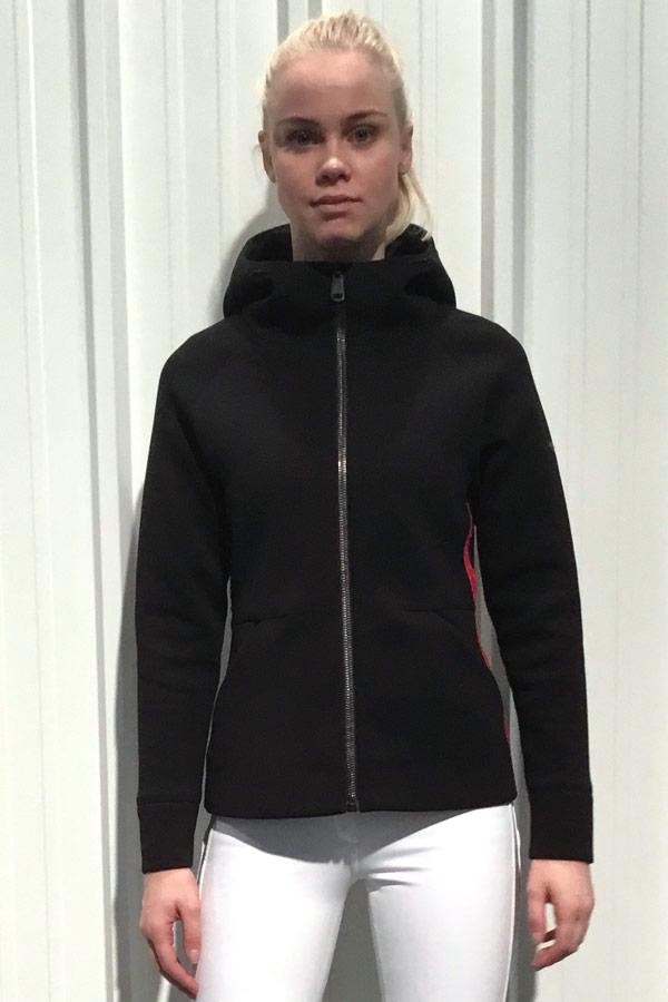 WHITE SALE 40%OFF GOLDBERGH レディース スキー インナージャケット GB 21-10-183 AURORA 900 BLACK