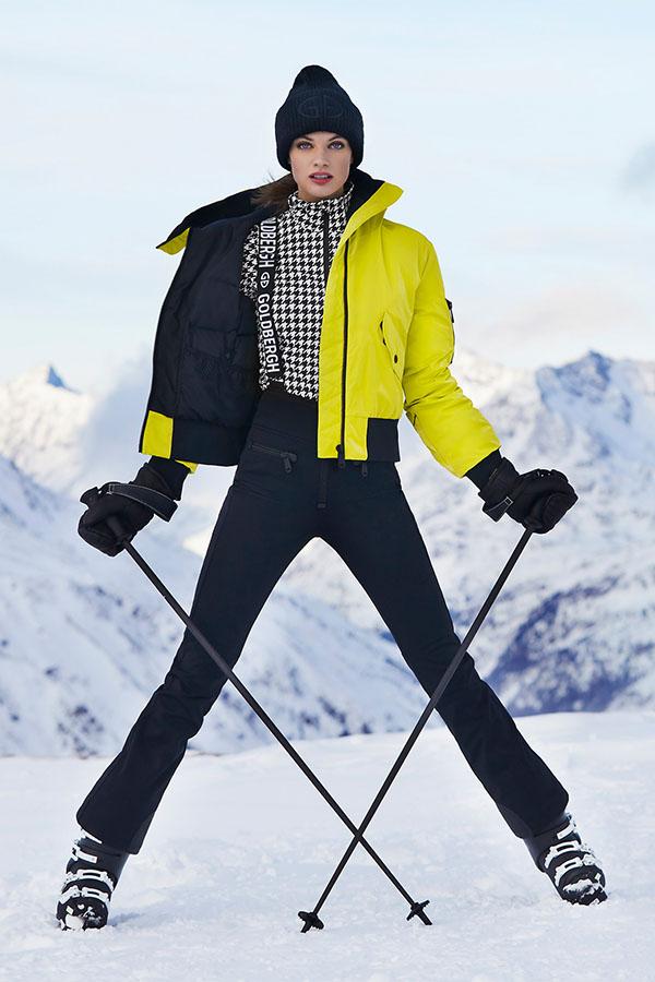 NEW GOLDBERGH レディース スキー キャップ GB42-11-203 Valerie 900 BLACK