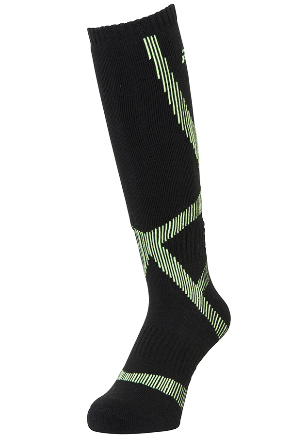 NEW Phenix スキー ソックス U/SOCKS PSA78SO32 MUSCLE LINE SOCKS BK
