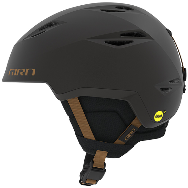 GIRO ジロ スキーヘルメット GRID MIPS METALLIC COAL/TAN