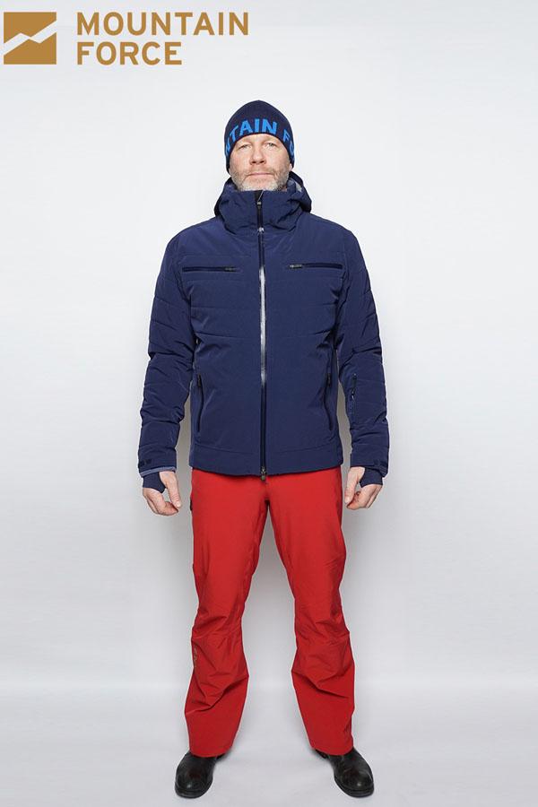 WINTER SALE60%OFF MOUNTAIN FORCE マウンテンフォース メンズ スノー スキー ジャケット AVANTE JACKET MF17W0504 6002