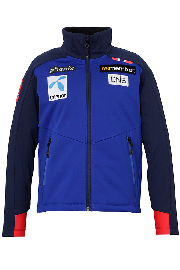 WHITE SALE 50%OFFPhenix キッズ スキー インナージャケット J/MIDDLER PFAG2KT01 Norway Alpine Team Jr. Soft Shell JK RB