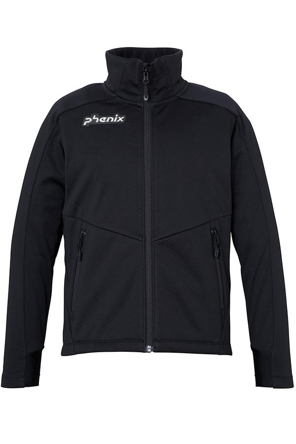 WHITE SALE 50%OFFPhenix キッズ スキー インナージャケット J/MIDDLER PFAG2KT01 Norway Alpine Team Jr. Soft Shell JK BK