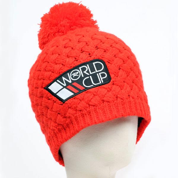 【SALE】ROSSIGNOL ロシニョール スキーキャップ RLGMH12 WORLDCUPPOMPON 304/CRIMSON