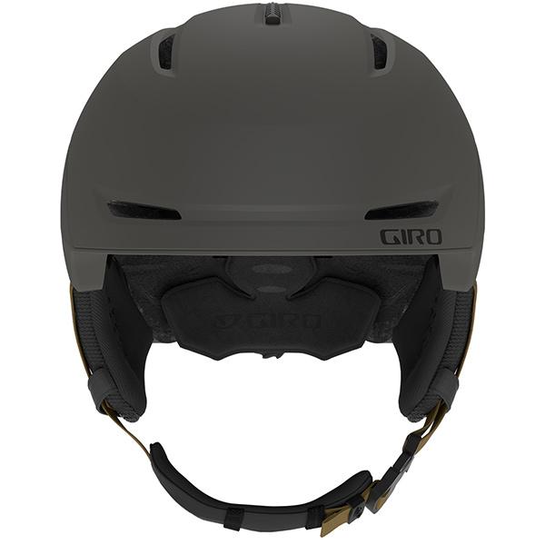 GIRO ジロ スキーヘルメット NEO MIPS (ASIAN FIT) METALLIC COAL/TAN
