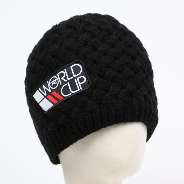 【SALE】ROSSIGNOL ロシニョール スキーキャップ RLGMH13 WORLDCUP 200/BLACK