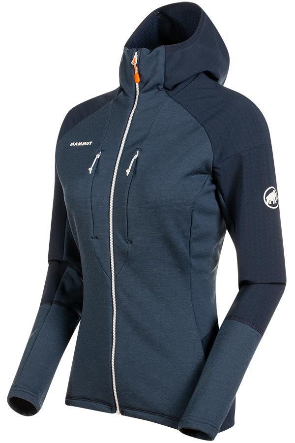 MAMMUT  Eiger レディースジャケット W/CA JK 1014-02330 Eiswand Advanced ML Hooded Jacket Women 5924 night