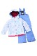 NEW Phenix キッズ スキー 2ピース G/TOW-PIECE PSAH22P75 Snow Crystal WT